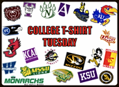College Gear Tuesdays