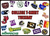 College Gear Tuesdays