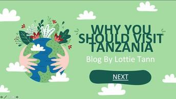 A blog exploring the many reasons to visit Tanzania