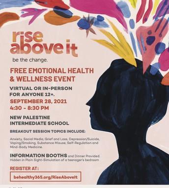 FREE Emotional Health & Wellness Event