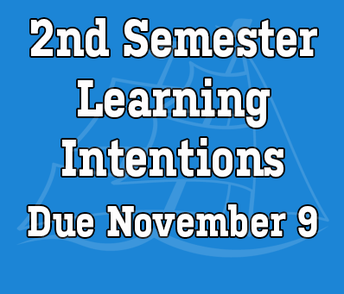 2nd semester learning