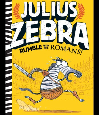 Julius Zebra: Rumble with the Romans by Gary Northfield