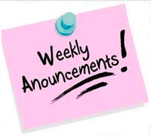 Link to Bethel Springs Weekly Announcements on Website!