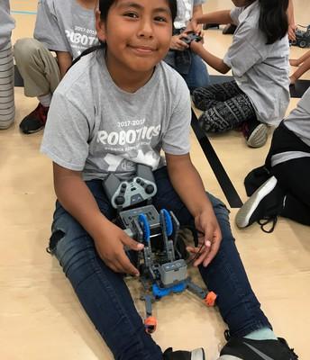 Beswick Robotics Student