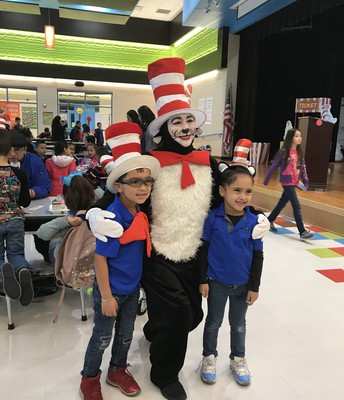 Jayson, The Cat in the Hat & Kayla