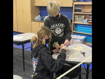 Fifth Grade STEM Work