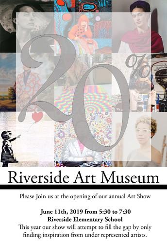 Riverside School Art Show