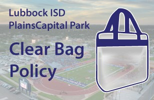 CLEAR BAG POLICY!