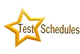 SEMESTER TEST DAY SCHEDULE CHANGE