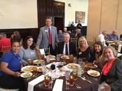 Hendrick Presents at the Plano Rotary Club