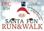 Dayton Chamber of Commerce Santa Fun Run & Walk