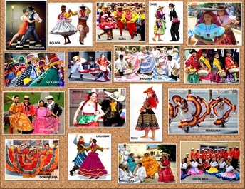 Latin American dances