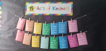 Room 9 Reminders: 15 Acts of Kindness