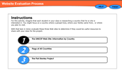 Use Website Evaluation Process