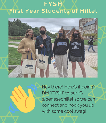 First Year Students of Hillel (FYSH)