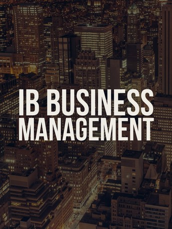 IB Business Managment
