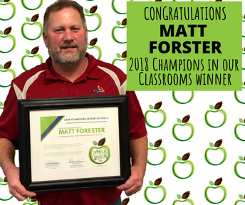 CONGRATULATIONS MR. FORSTER!