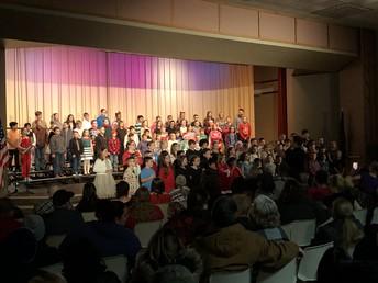 4th/5th Grade Music Show