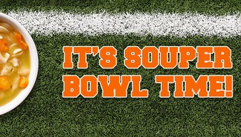 """Souper"" Bowl"" Pitch-in on Friday, Feb.1"