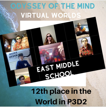 Congrats to the East Middle School Odyssey of the Mind Team