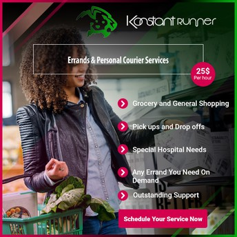 Konstant Runner Errand Services Reviews 2020 | New Orleans Courier & Delivery Services