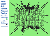 Jackson T-shirts, orders due by Friday, April 21st