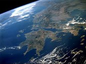 Greece from the space...