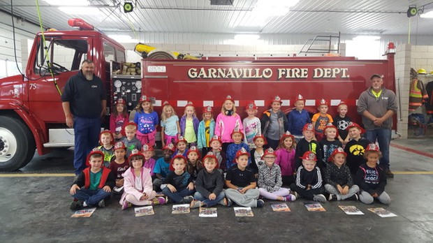 First Grade Visits the Fire Station