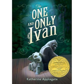 book cover for The One and Only Ivan by Katherine Applegate