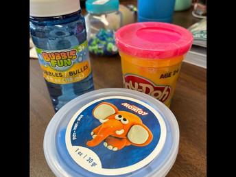 Bubbles, Playdough, Molding Clay