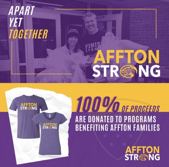 #afftonstrong Shirts Benefit Students