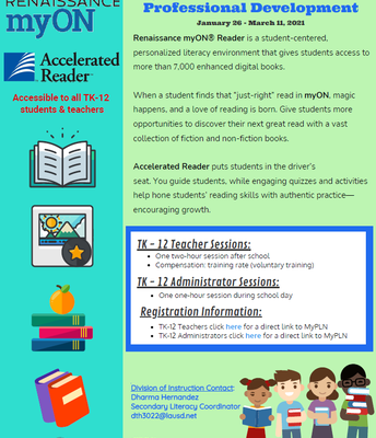 MyON Digital Library and Accelerated Reader