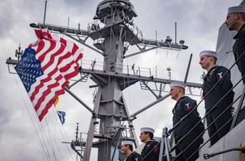 U.S. Navy Recruiter On Campus