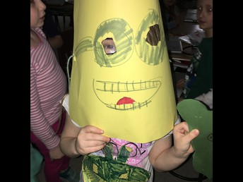 Handmade costumes created by kids, for kids!
