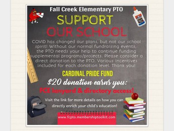 Support our school with the Cardinal Pride Fund!