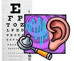 Examen de visión y audición