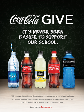Coca Cola GIVE - Rewards