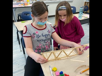 Building trusses to support their bridges in 3/4P