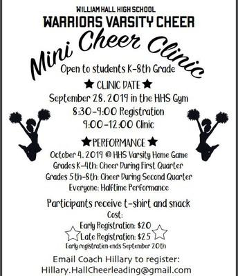 Mini Cheer Clinic