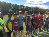 Grade 5/6 boys - on the starting line
