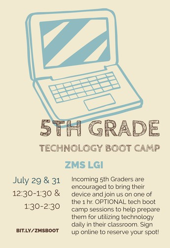 Attention 4th Grade Families!