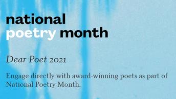 Teacher Resources- Dear Poet 2021