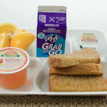 Información sobre el desayuno WMS