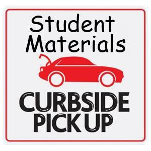 Virtual Student Material Pick Up on Monday February 1st