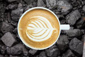 Café charbon activé