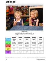 Mindful Classrooms--Week 10