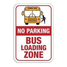 No Parking in the Bus Zone