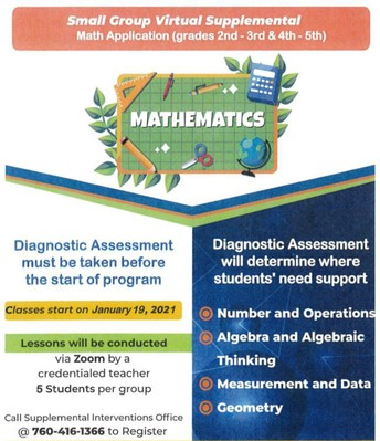 Click to learn how to get your child additional help in math