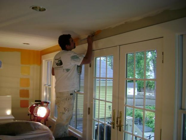 home painting project contact an interior painter near you for more