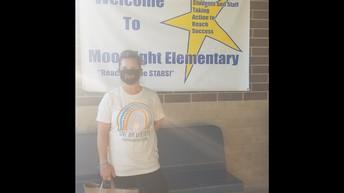 Moonlight Elementary Mask Donation